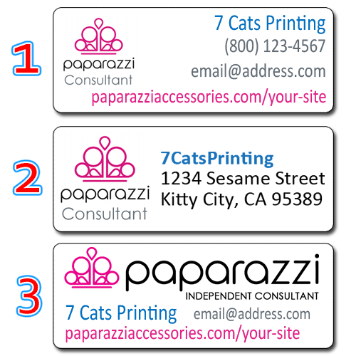 photo about Paparazzi Printable Numbers named Information with regards to 30 Paparazzi Equipment Guide Return Deal with Labels Custom made Stickers