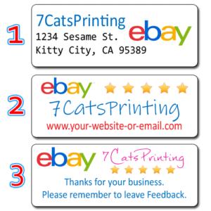 ebay return address labels