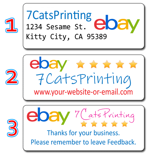 ebay return address labels