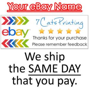 ebay thank you stickers
