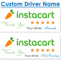 instacart thank you stickers