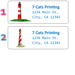 lighthouse labels