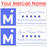 mercari stickers