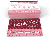 poshmark thank you cards